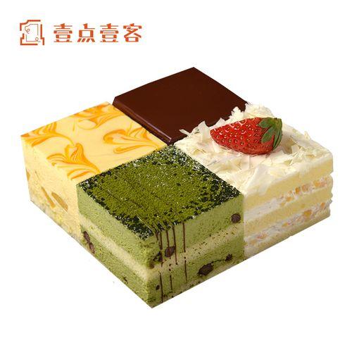 壹点壹客生日蛋糕创意网红下午茶水果奶油芝士蛋糕