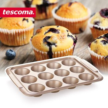 tescoma烘焙模具不粘马芬蛋糕模具麦芬蛋糕烤盘