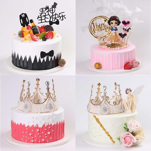 蛋糕模型2021新款生日蛋糕模型创意流行仿真蛋糕模型