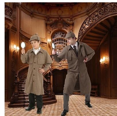 出租19世纪服装复古英伦风夏洛克福尔摩斯cos 中世纪
