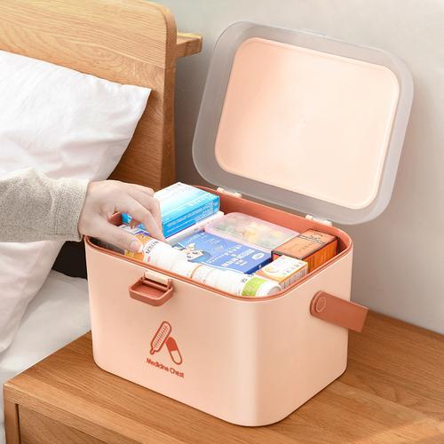 医药箱小号学生开学宿舍美团小药箱便携小型带药可爱