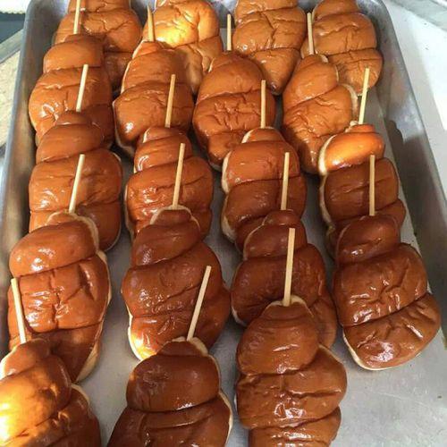 80后怀旧鸡腿面包肉松热狗面包 豆沙火腿面包老面包 10个 10个火腿