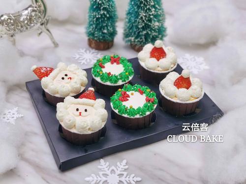 【圣诞主题纸杯蛋糕】节日限定