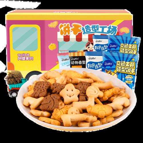 阿婆家的  童趣造型饼干 6袋 6.43元