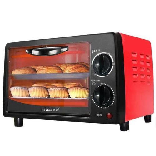 红色新款小容量烤箱机粉色烘培机卧式蛋糕卷迷你小考箱烘焙小烤.