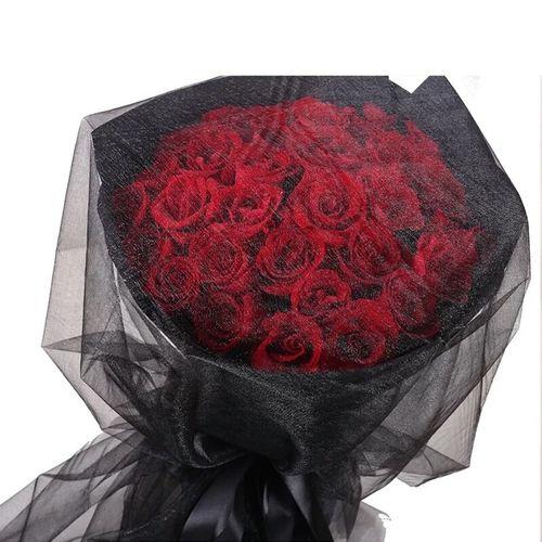 33朵玫瑰花束河南漯河市源汇区郾城区召陵区同城鲜花速递送花上门