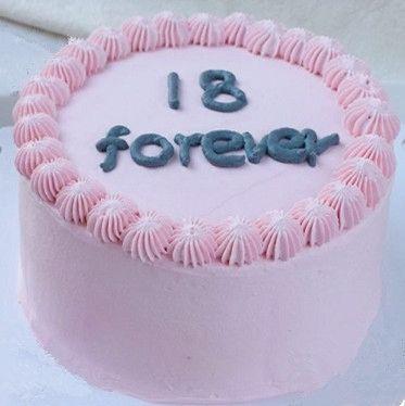 新款加高奶油18岁生日蛋糕模型 精美塑胶假蛋糕样品