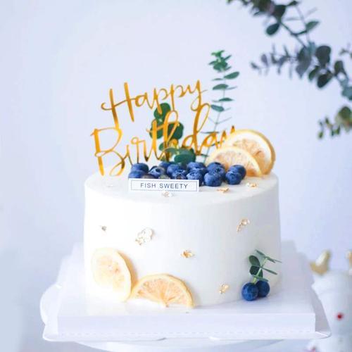摆件烘干装饰生日蛋糕柠檬片50g罐装森系小清新简约柠檬干片插牌