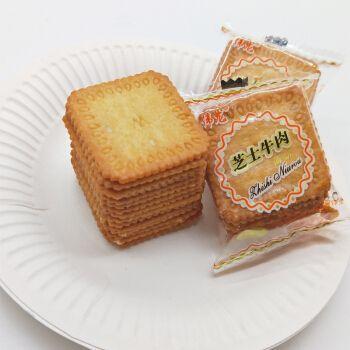 伟龙薄脆小饼干3斤整箱 香葱牛奶巧克力零食儿时福利幼儿园 3斤香浓