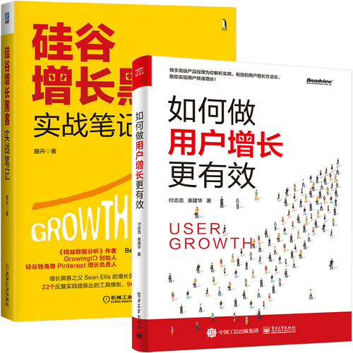2册产品经理市场营销运营推广方法技巧 互联网