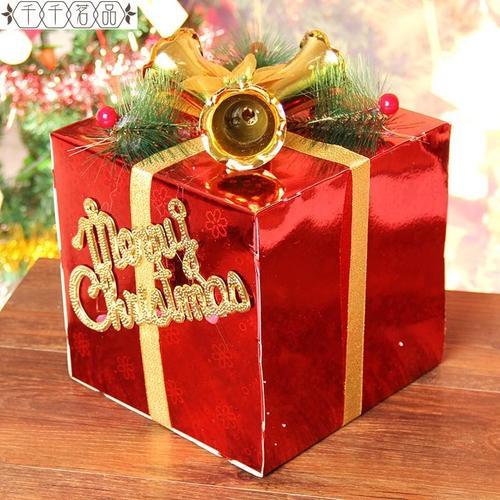 圣诞节装饰品 圣诞树装饰 圣诞礼盒包装盒 圣诞节装饰