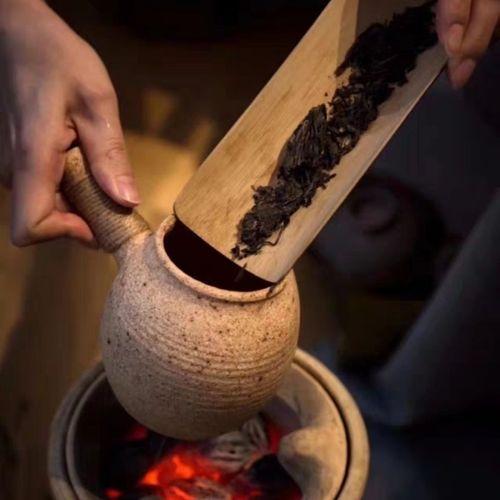 土陶罐煮茶烤茶罐煮茶干炒茶烘焙茶泡茶公道耐火土窑