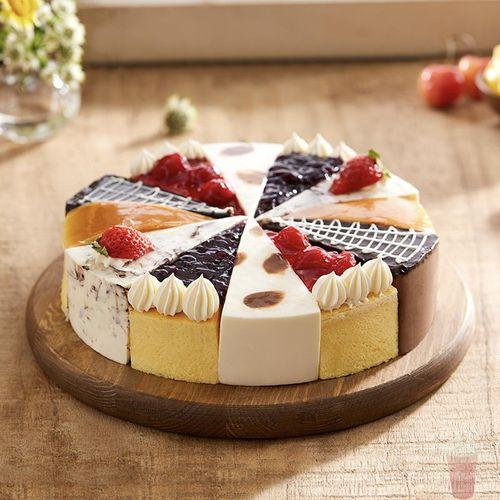 幸福西饼花镜下午茶蛋糕慕斯芝士巧克力水果草莓上海