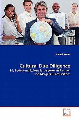 【预订】cultural due diligence