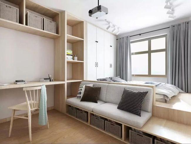 衣柜太大放不下现在流行这样设计小巧实用省空间
