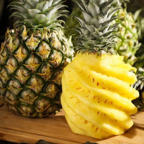 金钻凤梨湛江徐闻新鲜菠萝大果5/9斤 果园当季热带水果