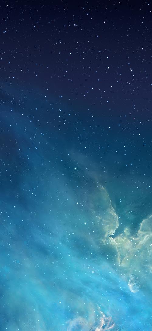 ps当年水滴壁纸我用了好几年配合iphone4的ios5图标阴影简直了