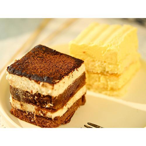 5折 冷冻巧克力提拉米苏慕斯蛋糕海盐芝士咸奶油蛋糕点小甜品 【9块】