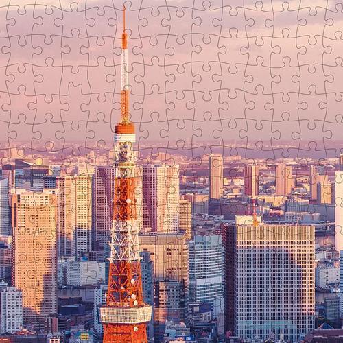 猫的天空之城1000片拼图东京暮色成年人减压风景建筑
