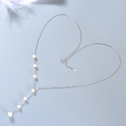 珍珠项链可调节毛衣链长款项链女