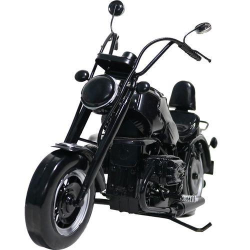 哈雷摩托车模型摆件铁艺工艺品男孩房间装饰品摆设