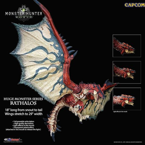預定 kitzconcept kc301 18寸 怪物獵人 世界 rathalos 雄火龍