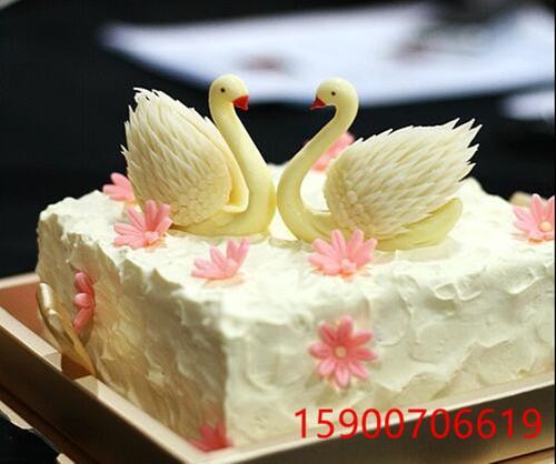 网红糕 抖音同天鹅 白天鹅蛋糕 黑天鹅蛋 鸭子鹅生日