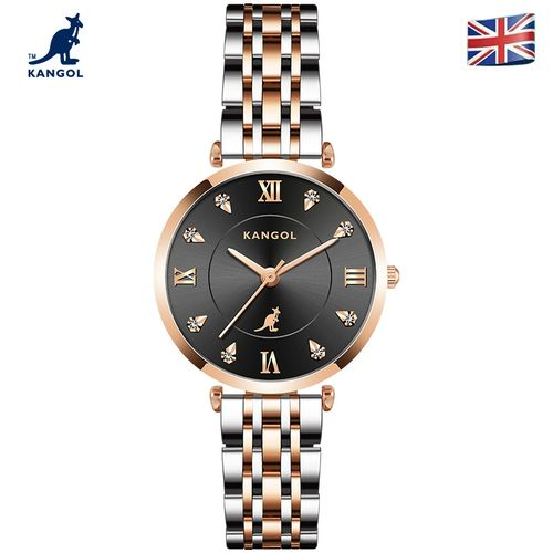 英国品牌坎戈尔袋鼠kangol全自动非机械表女士手表