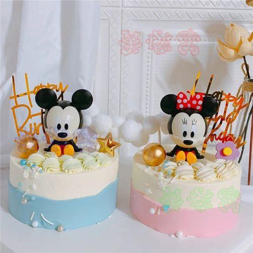 双胞胎生日蛋糕龙飞胎蛋糕儿童男孩女孩宝宝周岁百天全国上海广州