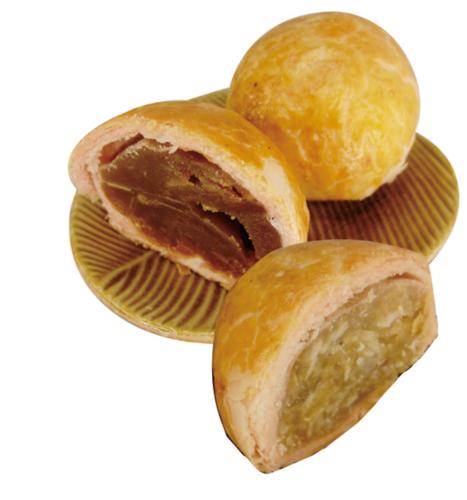 椰皇奶酥(椰丝莲蓉)红苓