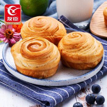 友臣  牛可可手撕面包棒早餐糕点零食椰蓉面包下午茶点心早餐代餐饼干