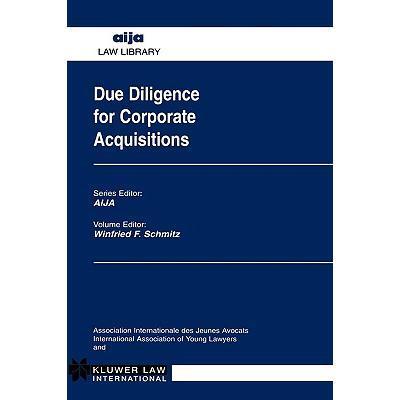 预订 due diligence for corporate acquisitions