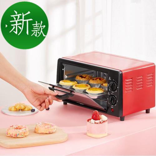 电烤箱小型迷你12l双层烘焙小烤l箱多功能全自动干果机